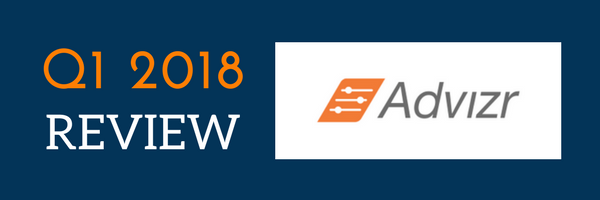 Advizr's Top 7 New Features – A Review of Q1 2018 - Advizr